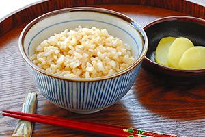 十六穀類と発芽玄米のごはん